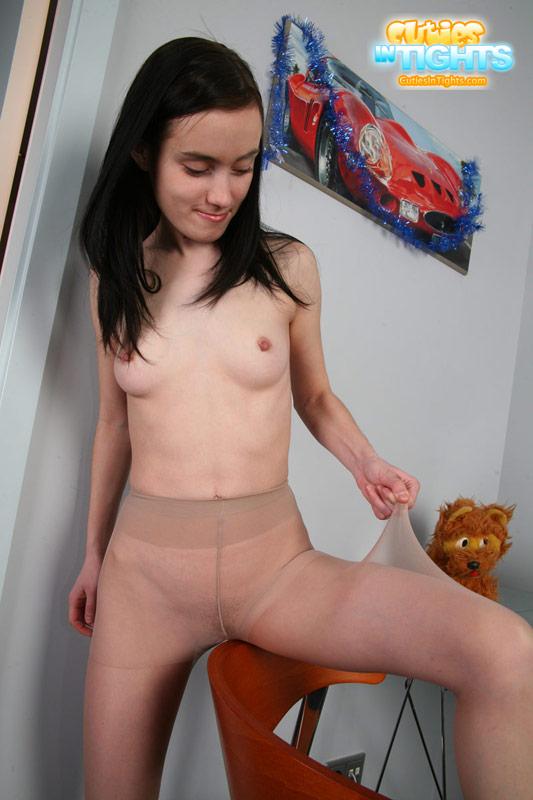 Brunette naked lap dance